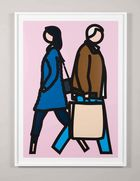 Galerie Frank Fluegel - Julian Opie | New York Couple