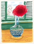 Galerie Frank Fluegel - David Hockney My Window Ipad Drawing
