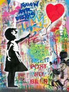 Galerie Frank Fluegel - Mr. Brainwash - Balloon Girl